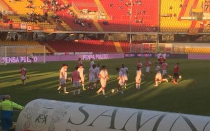 Benevento-Perugia, le formazioni ufficiali LIVE
