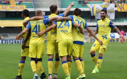 Pisa-Crotone 1-1 e Chievo-Ascoli 2-0