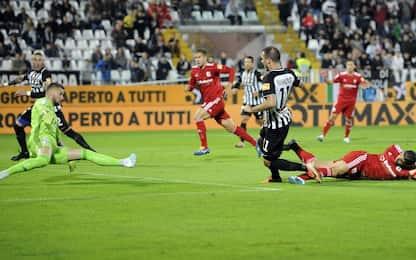 L'Ascoli piega l'Entella 2-1: è secondo posto