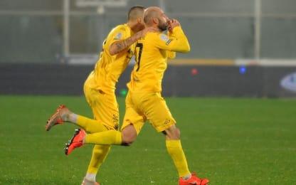 Migliore risponde a Galano, Pescara-Cremonese 1-1