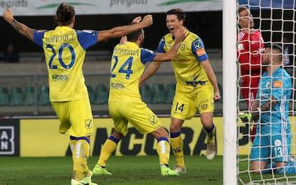 Serie B, il Chievo batte l'Entella: è terzo