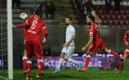 Iemmello non basta, Perugia frena: 2-2 col Cosenza