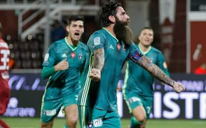 Magia Moscardelli, per il Pisa vittoria da playoff