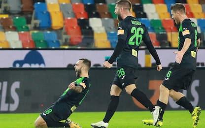 Pordenone sempre più secondo: Ascoli battuto 2-1