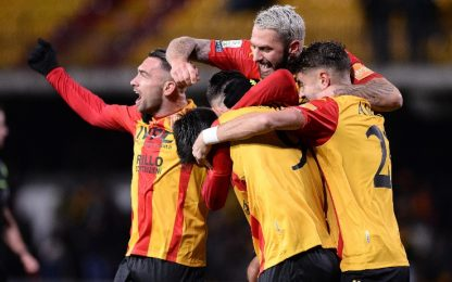 Benevento: 4-0 all'Ascoli e record con super Sau