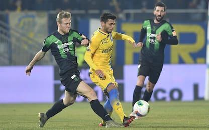 Il Frosinone ferma il Pordenone: 2-2 allo Stirpe