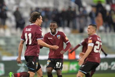 Riscossa della Salernitana, Spezia-Cittadella 1-1