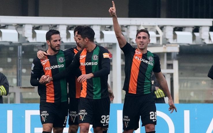 L'esultanza di Capello dopo il gol al Chievo (ph. Lapresse)
