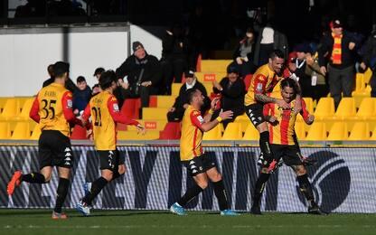 Benevento inarrestabile, colpo Cosenza: risultati