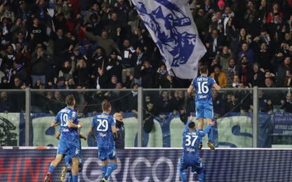 Tutino all'ultimo respiro: Empoli-Pisa 2-1