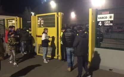Spezia-Pescara coi tifosi: ultima a porte aperte