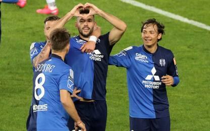 Djordjevic-Meggiorini, Chievo batte Cosenza 2-0