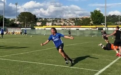 SuperPippo è tornato: il gol in allenamento. VIDEO