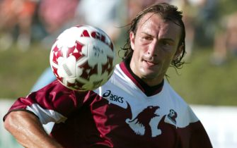 ©Nando Vescusio / La Presse25-07-2004 Lavarone (Tn)Sport - Calcio Partita Reggina Calcio in ritiro Nella Foto :  Davide Dionigi