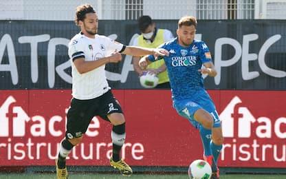 Colpo di Ragusa, Spezia-Empoli 1-0