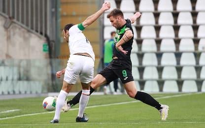 Aramu sbaglia un rigore, Pordenone-Venezia 0-0