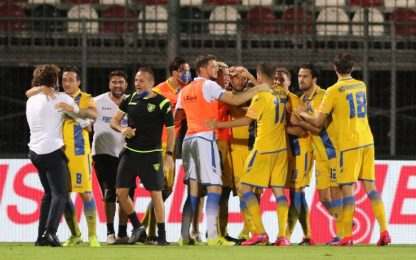 Playoff di B, il Frosinone è in semifinale