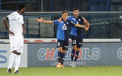 Al Chievo la semifinale d'andata, Spezia ko 2-0