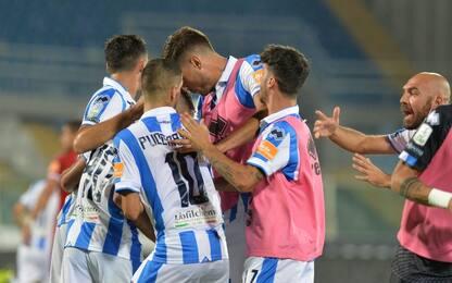 Galano e Maniero ribaltano il Perugia: 2-1 Pescara