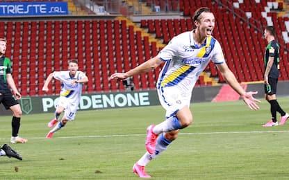 Impresa Frosinone: 2-0 al Pordenone, è in finale