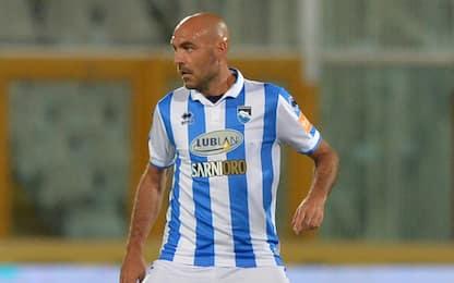 Pescara, Bruno aggredisce un tifoso dopo insulti