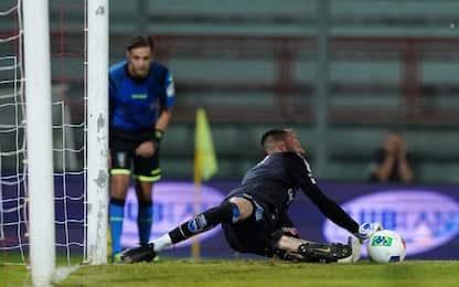 Pescara salvo ai rigori, il Perugia retrocede in C