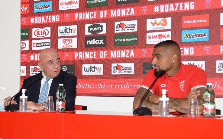 Galliani e Boateng