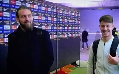 """De Rossi, sorpresa al suo """"erede"""" Marcucci. VIDEO"""
