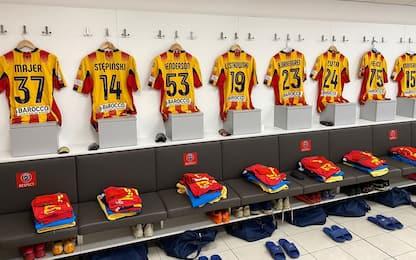Lecce, test negativi per calciatore e membro staff