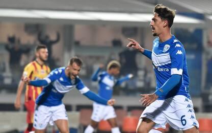Doppio Ndoj, colpo Brescia: 3-0 al Lecce