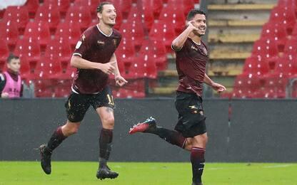 Ok Salernitana e Frosinone, Chievo vince a Monza