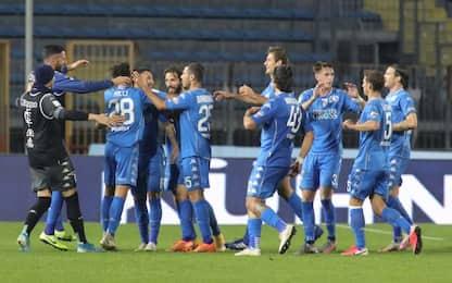 L'Empoli scatta in vetta: battuta la Reggina 3-0
