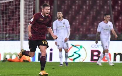 Salernitana, 2-1 alla Cremonese: ripreso l'Empoli