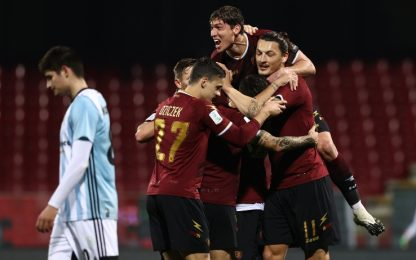 La Salernitana si prende la vetta: Entella ko 2-1