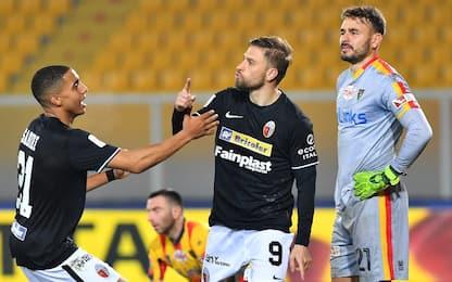 Doppio Dionisi, l'Ascoli vince a Lecce in rimonta