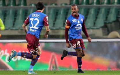 Chievo, vittoria e 2° posto. Reggina batte Entella