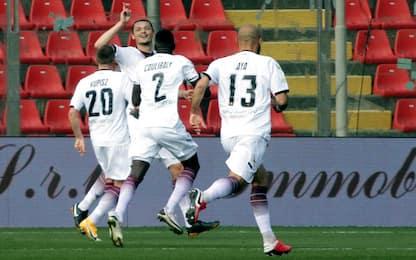 La Salernitana passa a Cremona, colpo della Spal