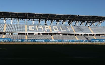 Troppi casi, l'Empoli non si presenta allo stadio