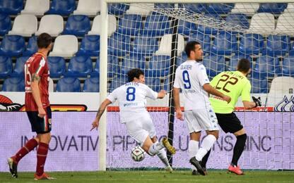 Matos-gol, l'Empoli vede la A: 1-0 a Reggio Emilia
