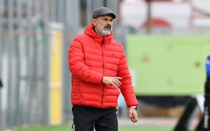 L'Entella esonera Vivarini: Volpe nuovo allenatore