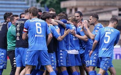 Empoli promosso: torna in Serie A dopo due anni