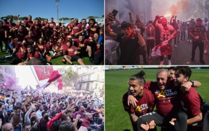 Salernitana in A, Brescia ai playoff. Cosenza in C