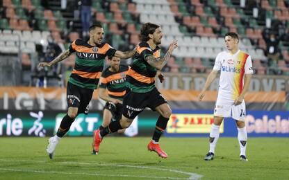 Forte lancia il Venezia: Lecce battuto 1-0