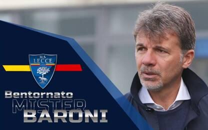 Lecce, è ufficiale: Baroni è il nuovo allenatore