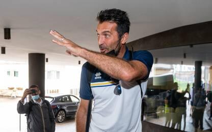 """Buffon al ritiro del Parma: """"Ora si fa sul serio"""""""