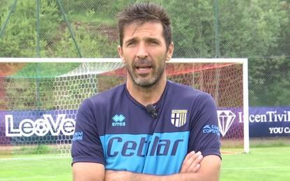 """Buffon: """"Donnarumma da Pallone d'Oro, ci punti"""""""