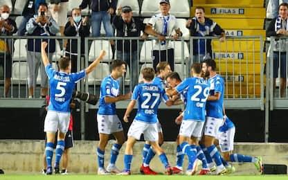 Brescia show: 5-1 al Cosenza