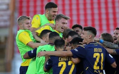 Ciano-Maiello: colpo Frosinone a Vicenza