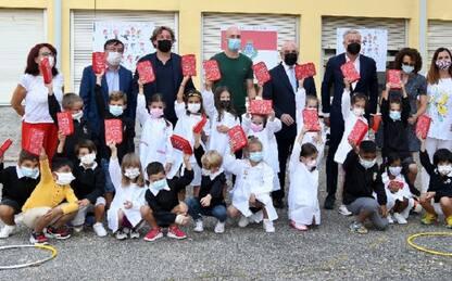 Il Monza dona mille astucci alle scuole