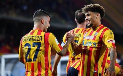Il Lecce vince ancora: battuto anche il Monza 3-0